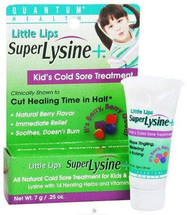 DROPPED: Quantum Health - Little Lips Super Lysine + Berry - 0.25 oz.