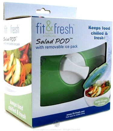DROPPED: Fit & Fresh - Salad POD with Removable Ice Pack