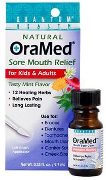 DROPPED: Quantum Health - OraMed Mouth Sore Care Mint - 0.33 oz.