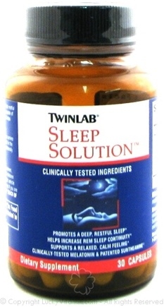 DROPPED: Twinlab - Sleep Solutions - 30 Capsules
