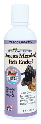 Zoom View - Royal Coat Express Omega Mender Itch Ender for Dogs & Cats