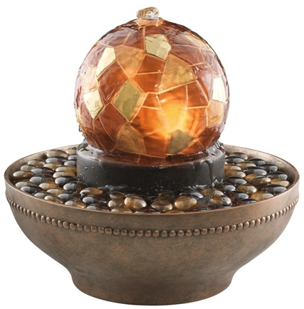 DROPPED: HoMedics - Envirascape Artesian Globe Relaxation Fountain WFL-ART - CLEARANCE PRICED
