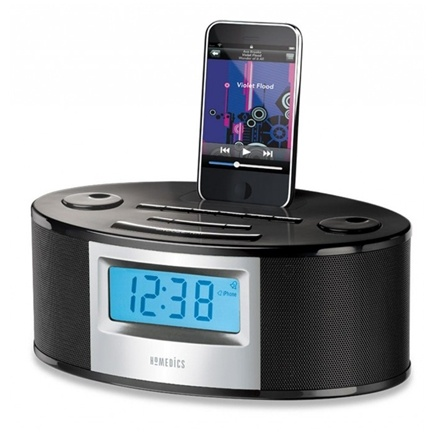 DROPPED: HoMedics - SoundSpa Fusion Alarm Clock Radio with iPhone iPod Dock SS-6510 - CLEARANCE PRICED