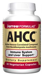DROPPED: Jarrow Formulas - AHCC Mushrooms - 30 Vegetarian Capsules