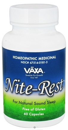 DROPPED: Vaxa - Nite-Rest - 60 Capsules