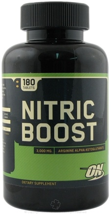 DROPPED: Optimum Nutrition - Nitric Boost - 180 Tablets