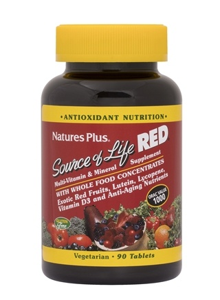 Zoom View - Source of Life Red Multi-Vitamin & Mineral