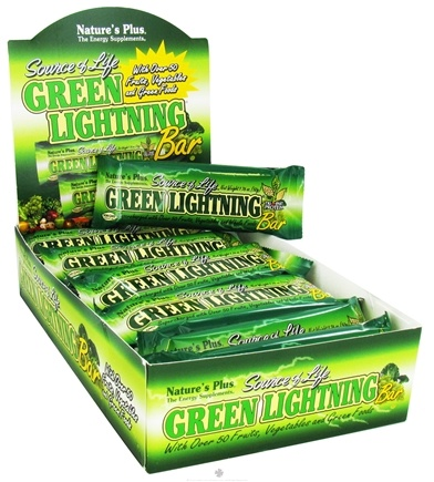 DROPPED: Nature's Plus - Source of Life Green Lightning Bar - 1.76 oz. CLEARANCE PRICED