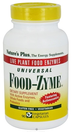 DROPPED: Nature's Plus - Universal FoodZyme - 90 Vegetarian Capsules CLEARANCE PRICED