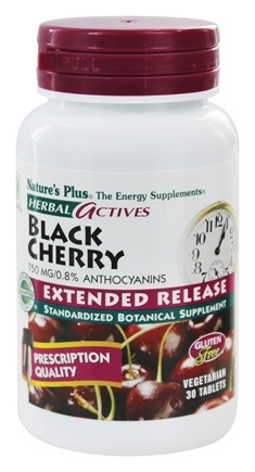 Zoom View - Herbal Actives Extended Release Black Cherry