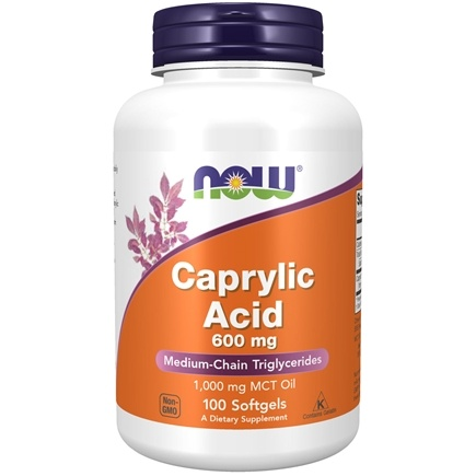 Zoom View - Caprylic Acid Intestinal Health
