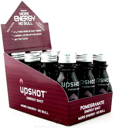 DROPPED: Drinks That Work - Upshot Energy Shot Pomegranate - 2.5 oz.