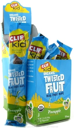 DROPPED: Clif Bar - Kid Organic Twisted Fruit Pineapple - 0.7 oz. CLEARANCE PRICED