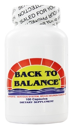 Fountain of Youth Technologies - Back to Balance Brain Food - 100 Capsules