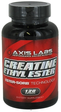 DROPPED: Axis Labs - Creatine Ethyl Ester - 120 Capsules