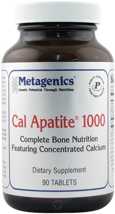 DROPPED: Metagenics - Cal Apatite 1000 - 90 Tablets