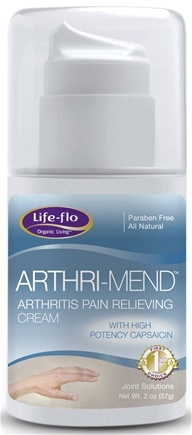 DROPPED: Life-Flo - Arthri-Mend Pain Relieving Cream - 2 oz.