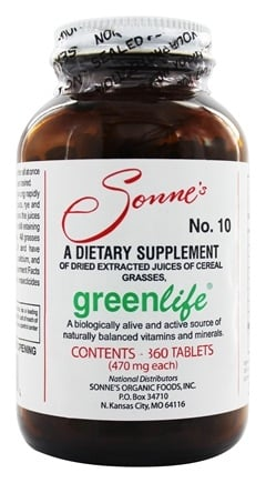 Zoom View - GreenLife #10 Multivitamin & Mineral Dietary Supplement