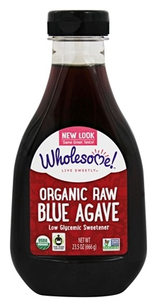 Wholesome! - Organic Raw Blue Agave - 23.5 oz.