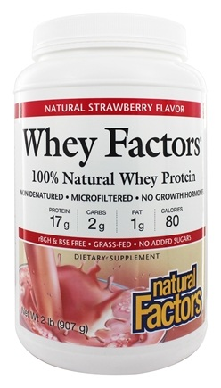 Zoom View - Whey Factors 100% Natural Whey Protein