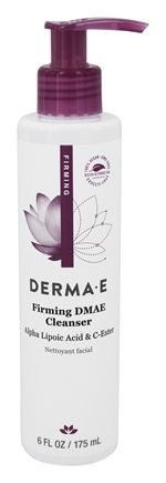 Derma-E - Firming DMAE Cleanser with Alpha Lipoic Acid & C-Ester - 6 oz.