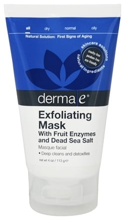DROPPED: Derma-E - Exfoliating Mask with Fruit Enzymes and Dead Sea Salt - 4 oz.