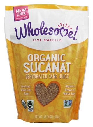 Wholesome! - Organic Sucanat - 1 lb.