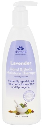 DROPPED: Derma-E - Hand & Body Moisture Therapy Lavender - 12 oz. (Formerly Age Defying)