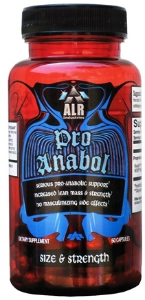 DROPPED: ALRI - Pro-Anabol Anabolic Support - 60 Capsules CLEARANCE PRICED