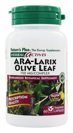 Zoom View - Herbal Actives ARA-Larix Olive Leaf Complex