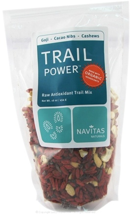 DROPPED: Navitas Naturals - Trail Power Goji-Cacao Nibs-Cashews Certified Organic - 16 oz.