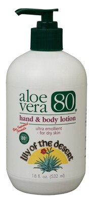 DROPPED: Lily Of The Desert - Aloe Vera 80 Hand & Body Ultra Emollient - 18 oz.