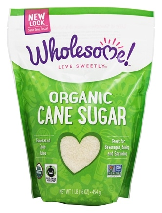 Wholesome! - Organic Cane Sugar - 1 lb.