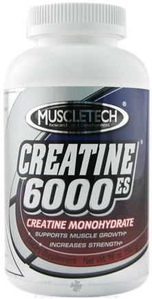 DROPPED: Muscletech Products - Creatine 6000-ES - 18 oz. CLEARANCE PRICED