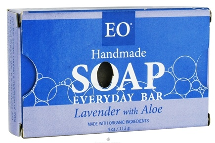 DROPPED: EO Products - Handmade Soap Everyday Bar Lavender with Aloe - 4 oz.