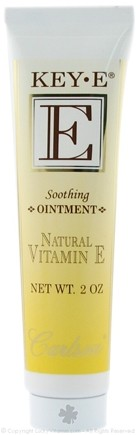 DROPPED: Carlson Labs - Key-E Natural Vitamin E Soothing Ointment - 2 oz.