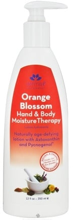 DROPPED: Derma-E - Hand & Body Moisture Therapy Lotion Orange Blossom - 12 oz. Formally Age Defying