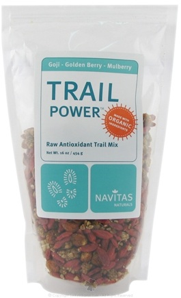 DROPPED: Navitas Naturals - Trail Power Goji-Golden Berry-Mulberry Certified Organic CLEARANCE PRICED - 16 oz.