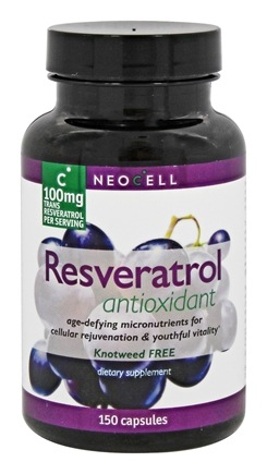 NeoCell - Resveratrol Antioxidant 100 mg. - 150 Capsules