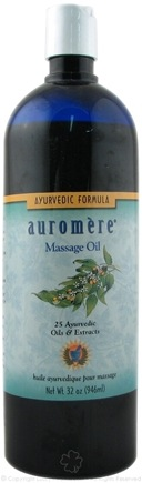 DROPPED: Auromere - Ayurvedic Massage Oil - 32 oz.