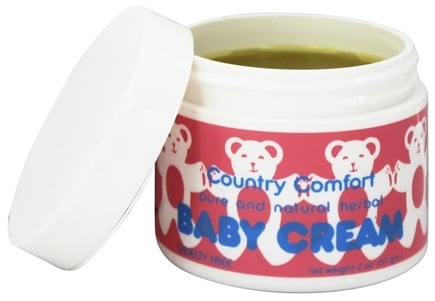 DROPPED: Country Comfort Herbals - Baby Cream - 2 oz.