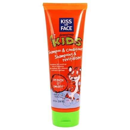 Kiss My Face - Kids Shampoo & Conditioner Orange U Smart - 8 oz.