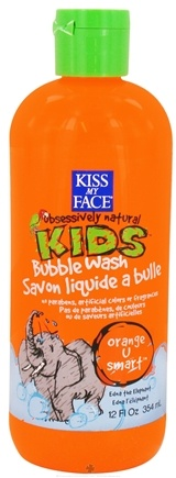 Kiss My Face - Kids Bubble Wash Orange U Smart - 12 oz.