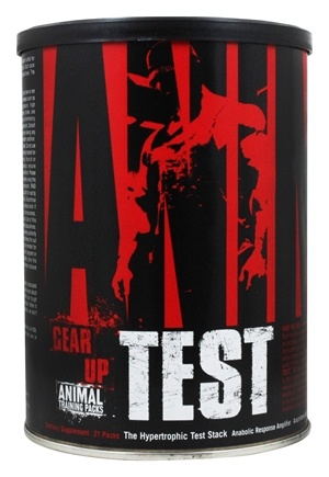 Animal - Animal Test Hypertrophic Test Stack - 21 Pack(s)