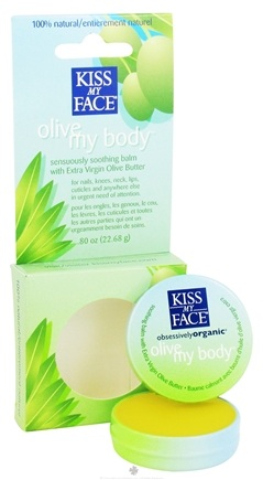 DROPPED: Kiss My Face - Olive My Body Soothing Balm - 0.8 oz. CLEARANCE PRICED