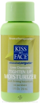 DROPPED: Kiss My Face - Tighten Up Moisturizer Lime Chamomile - 1 oz.