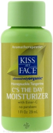 DROPPED: Kiss My Face - C's The Day Moisturizer With Ester C Honeysuckle Tangerine - 1 oz. CLEARANCE PRICED