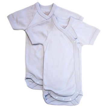 Zoom View - Baby Bodysuit 0-3 Months Blue