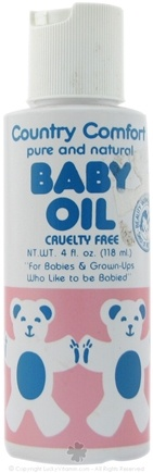 DROPPED: Country Comfort Herbals - Baby Oil - 4 oz. CLEARANCE PRICED