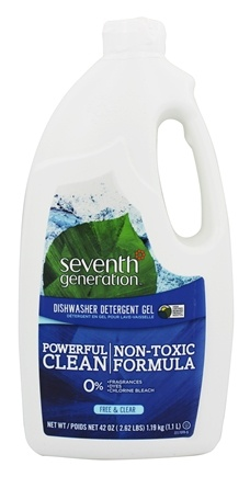 Seventh Generation - Automatic Dishwasher Gel Fragrance Free - 42 oz.